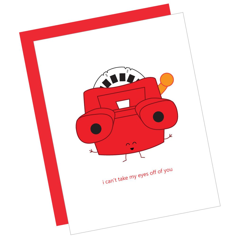 I Can't Take My Eyes off of You Greeting Card
