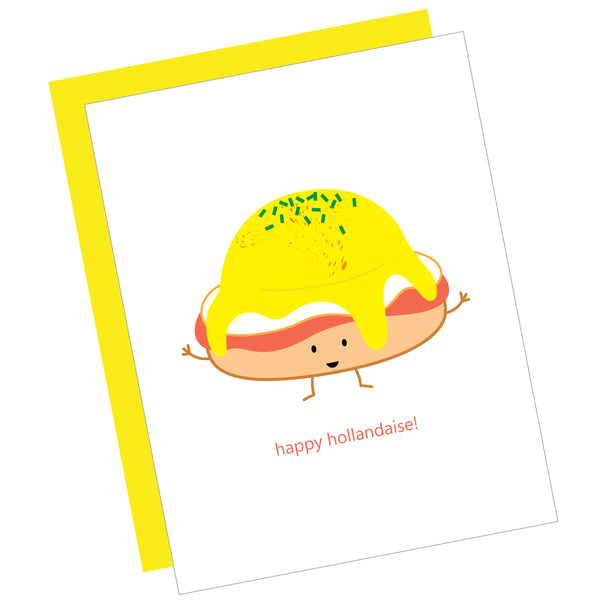 Happy Hollandaise! Greeting Card