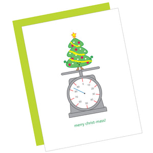 Merry Christ-Mass! Greeting Card