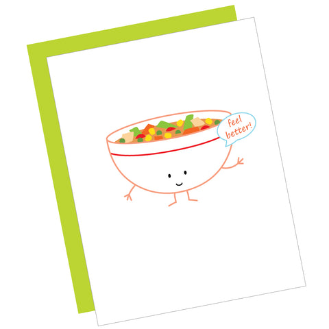 Feel Better! Greeting Card