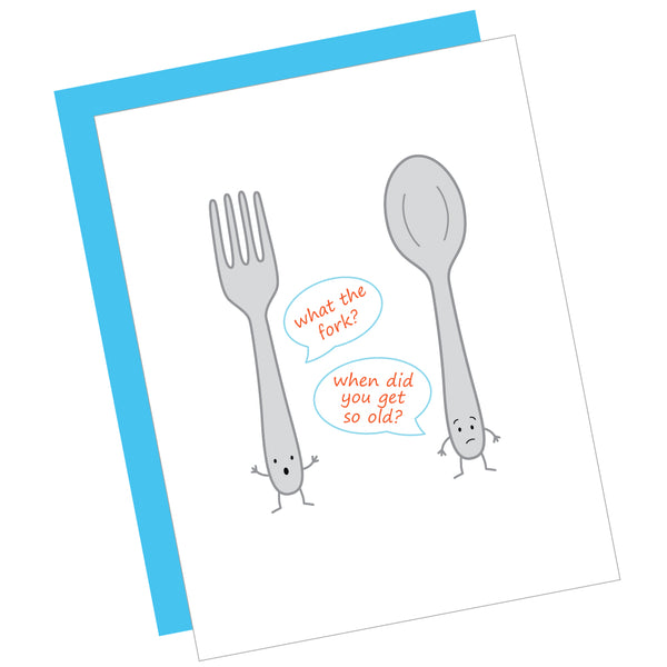 What the Fork? Greeting Card