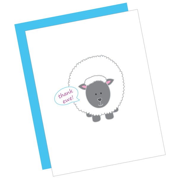 Thank Ewe! Greeting Card