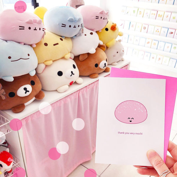 Thank You Very Mochi Greeting Card