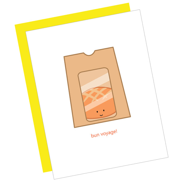 Bun Voyage! Greeting Card