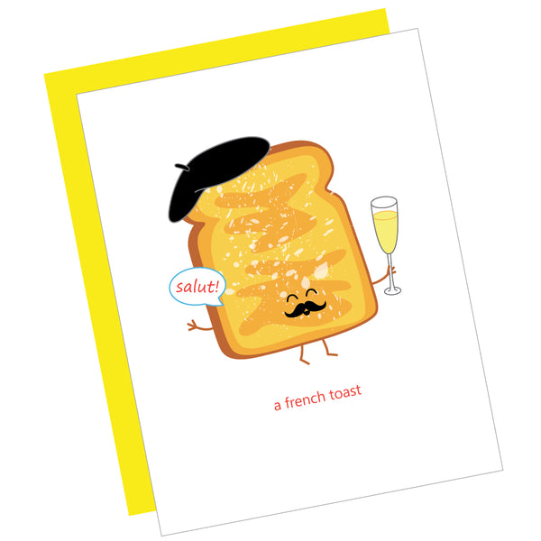 A French Toast Greeting Card