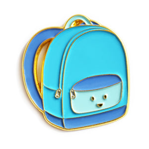 Blue Backpack Enamel Pin