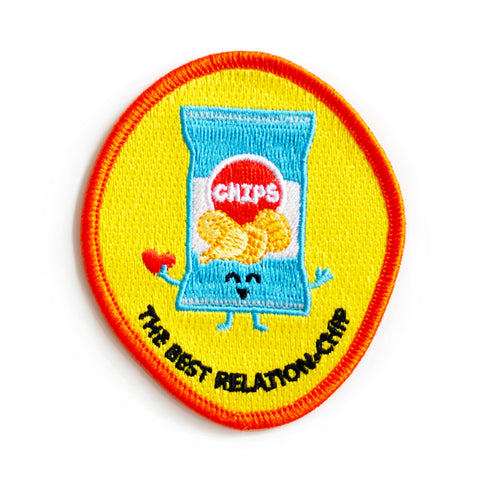 The Best Relation-chip Iron-on Patch