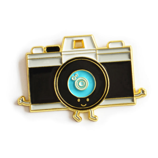 Camera Enamel Pin