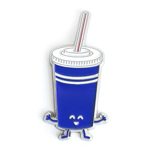 Fountain Pop Drink Enamel Pin
