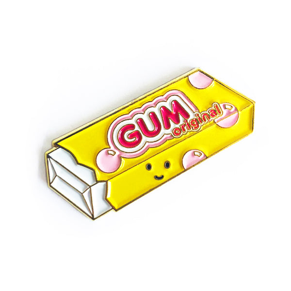 Bubble Gum Enamel Pin
