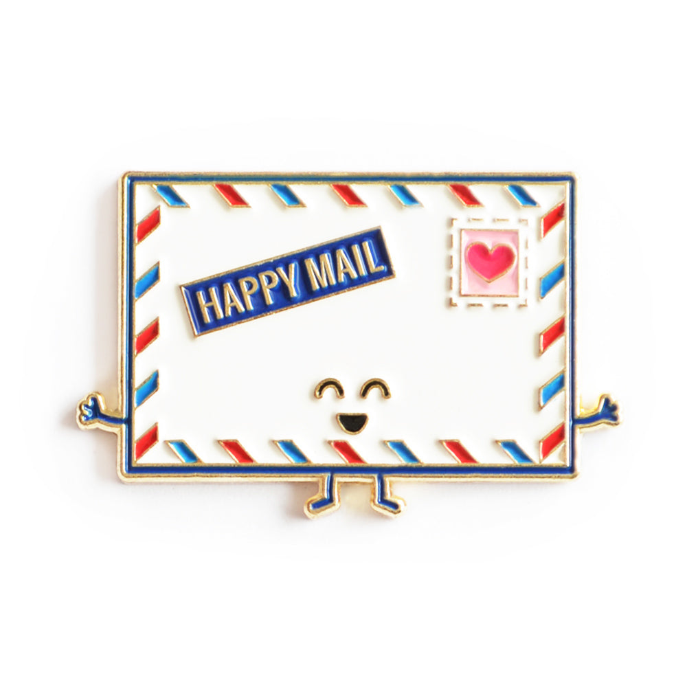Happy Mail Enamel Pin