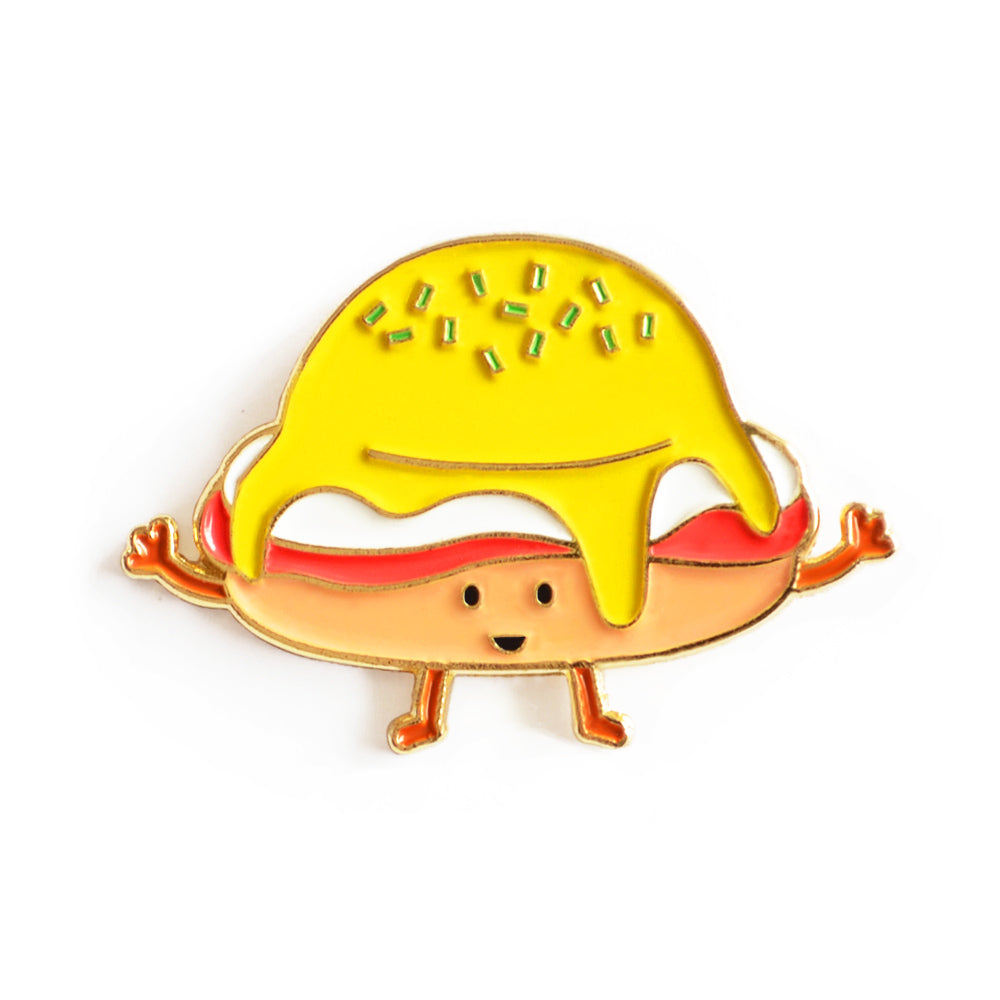 Hollandaise (Eggs Benedict) Enamel Pin