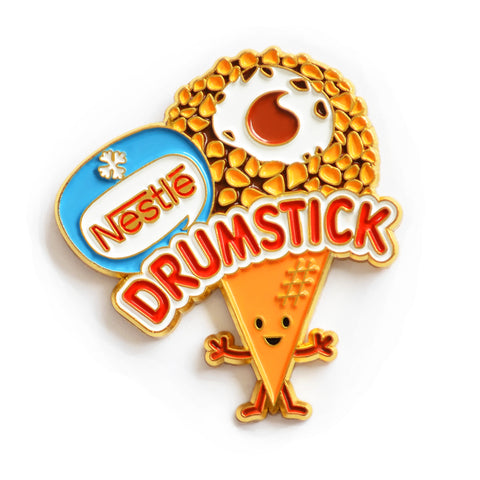 Nestle Drumstick Ice Cream Enamel Pin