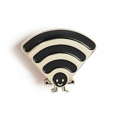 Wifi Enamel Pin