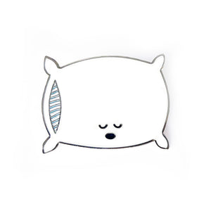 Sleepy Pillow Enamel Pin