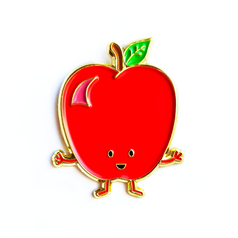 Apple Enamel Pin