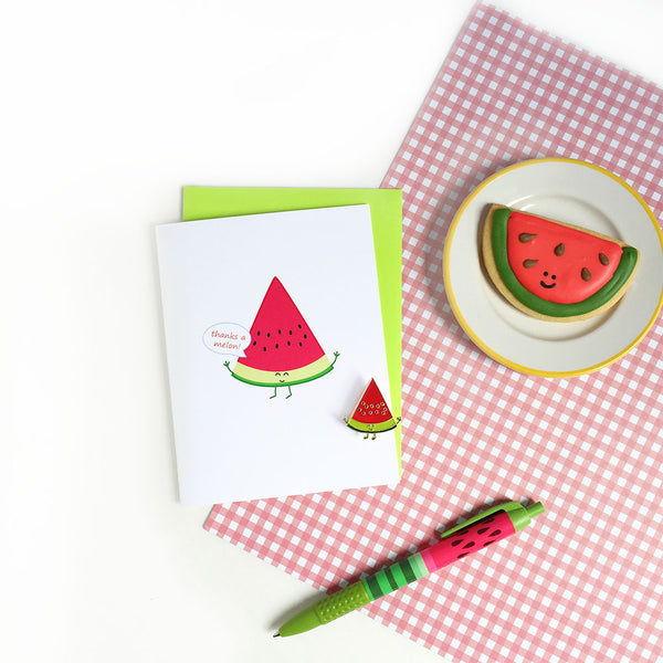 Thanks a Melon! Greeting Card