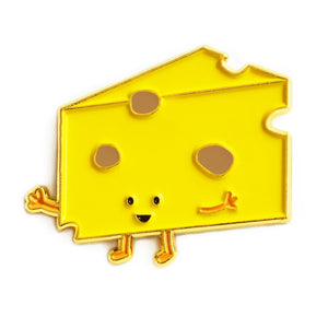 Cheese Enamel Pin