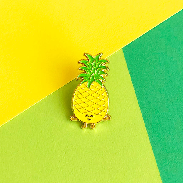 Pineapple Enamel Pin