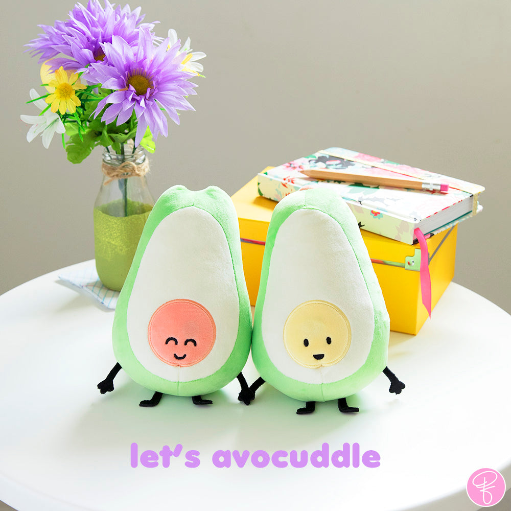 Let's Avocuddle Plush Set