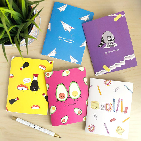 Stationery Party Notebook