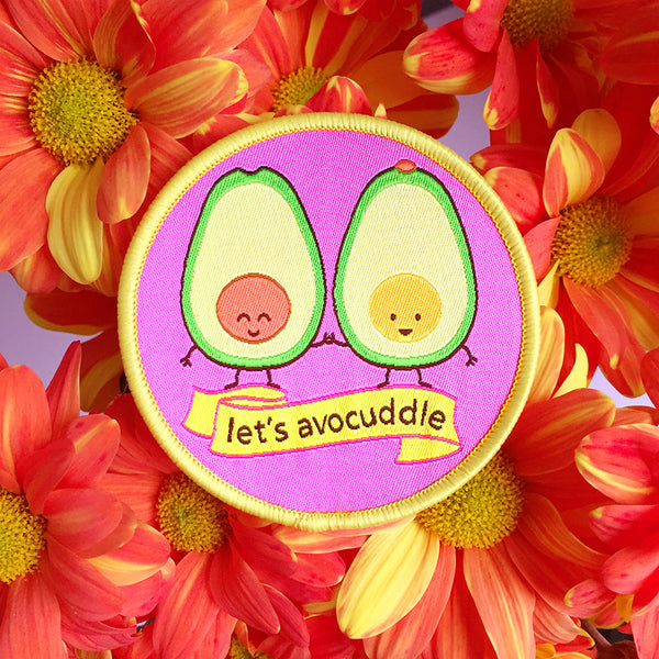 Let's Avocuddle Iron-on Patch
