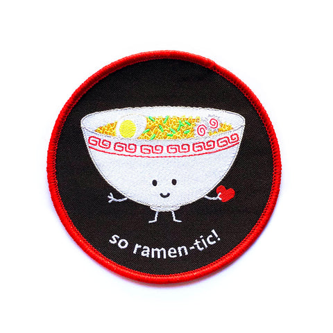 So Ramen-tic! Iron-on Patch