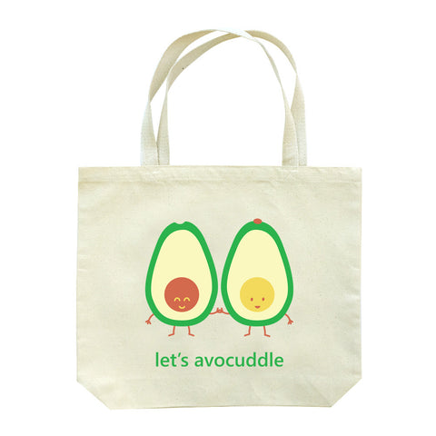 Let's Avocuddle Tote Bag