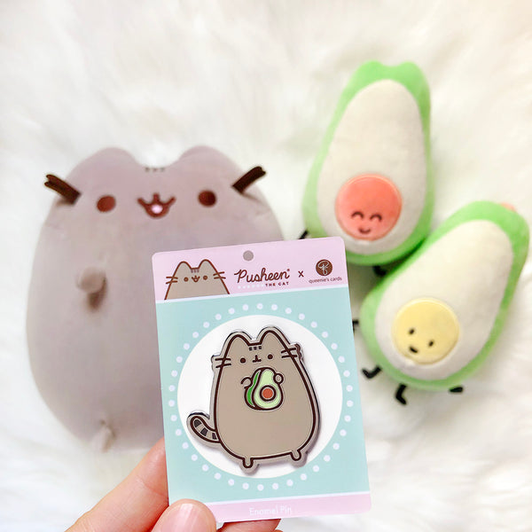 queenie's cards x Pusheen Enamel Pin