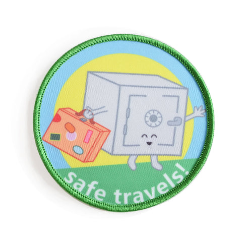 Safe Travels! Iron-on Patch
