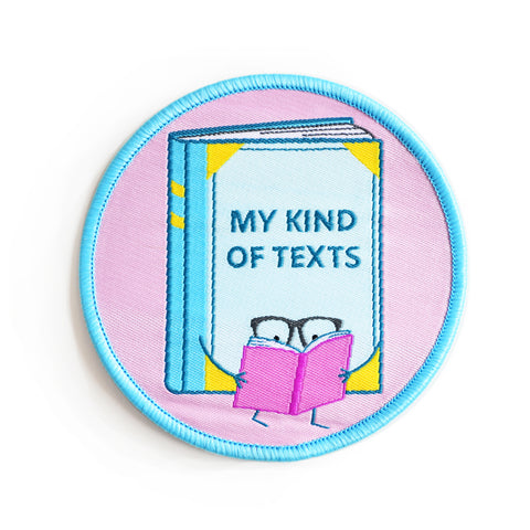 My Kind of Texts Iron-on Patch
