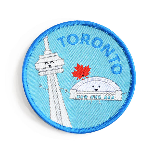 Toronto Iron-on Patch