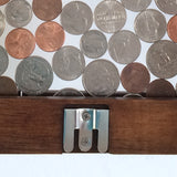 Large Hanging Vertical Coin Bank