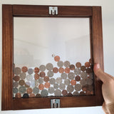 Small Hanging Vertical Coin Bank