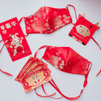 Lunar New Year Fitted Mask