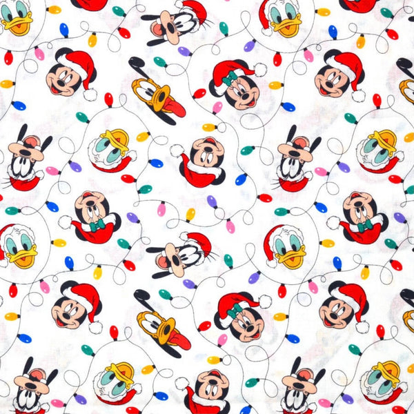 Mickey & Friends Holiday Fitted Mask