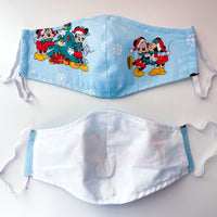 Mickey & Minnie Snow Fitted Mask