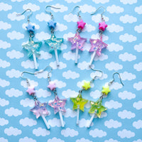 Star Lollipop Earrings
