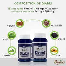 Load image into Gallery viewer, Diabri- Anti-Diabetic Capsules and Powder Combo