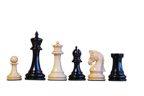 Artisan Imperial Ebony Chess Pieces