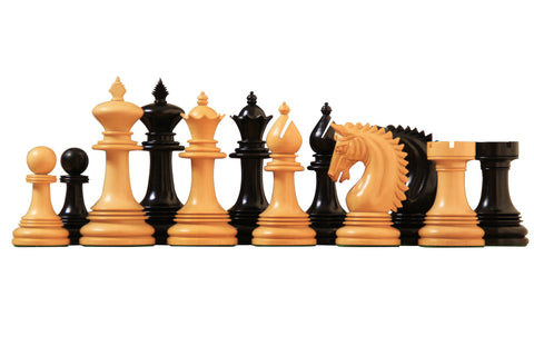 Artisan Miletus Ebony Chess Pieces