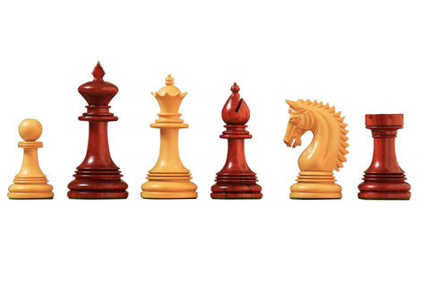 Artisan Miletus Redwood Chess Pieces