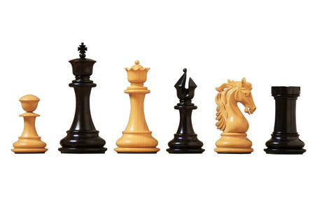 Artisan Heritage Ebony Chess Pieces