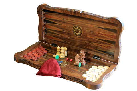 Orta Backgammon Set - Luxury Games - 1