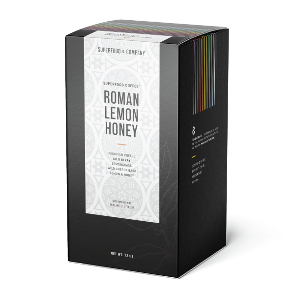 ROMAN LEMON HONEY - Superfood Coffee®