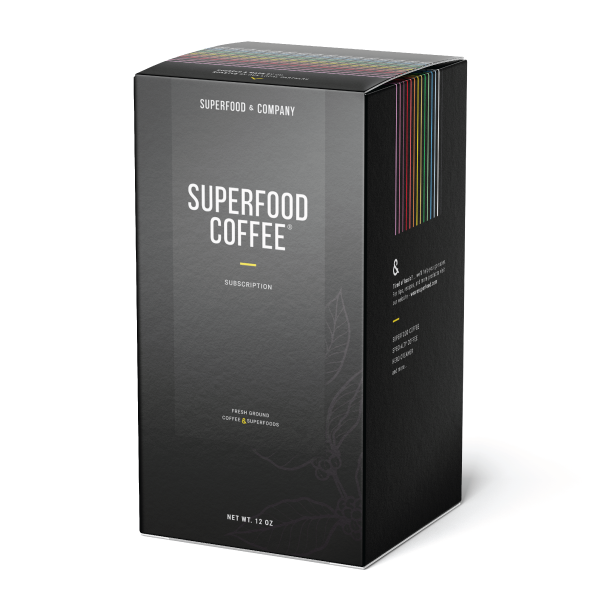 SUPERFOOD COFFEE® - Coffee Lover (2 cups per day)