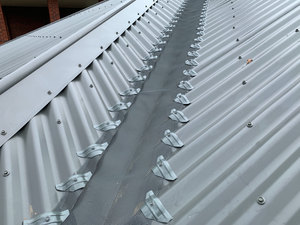 3mm X 4mm Corrugated Iron Valley WITH SADDLES - DIY Kit ($14.50 per metre)