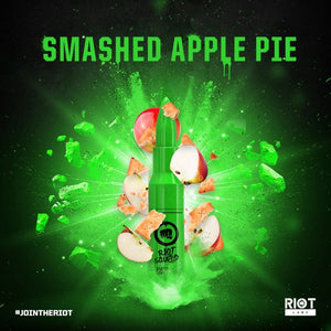 Riot Squad SMASHED APPLE PIE 50ml OVERDOSED - E-Liquid made in UK