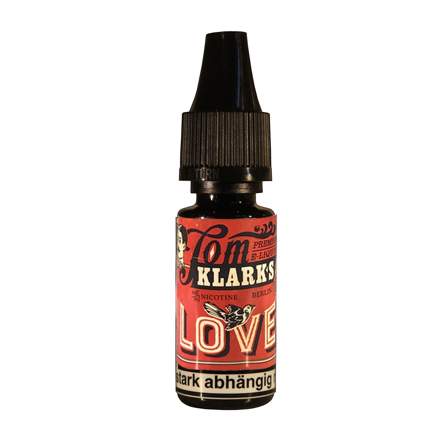 Tom Klark LOVE 10ml - E-Liquid made in Germany