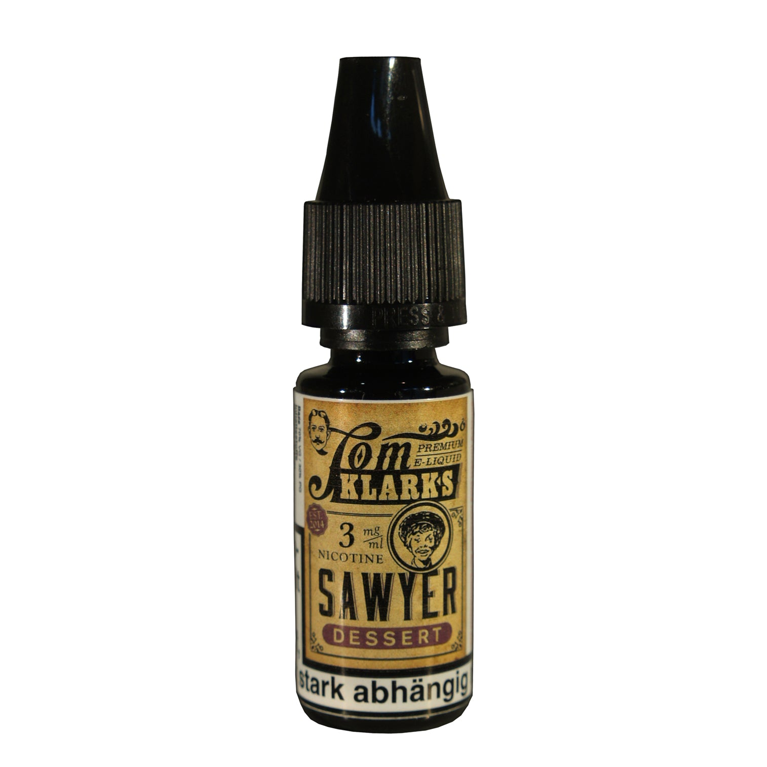 Tom Klark SAWYER DESSERT 10ml - E-Liquid made in Germany